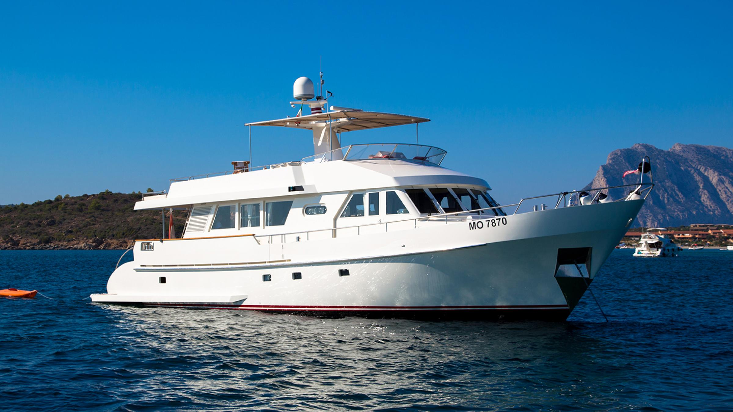 We have sold this 22-meter Moonen motor yacht for the third time