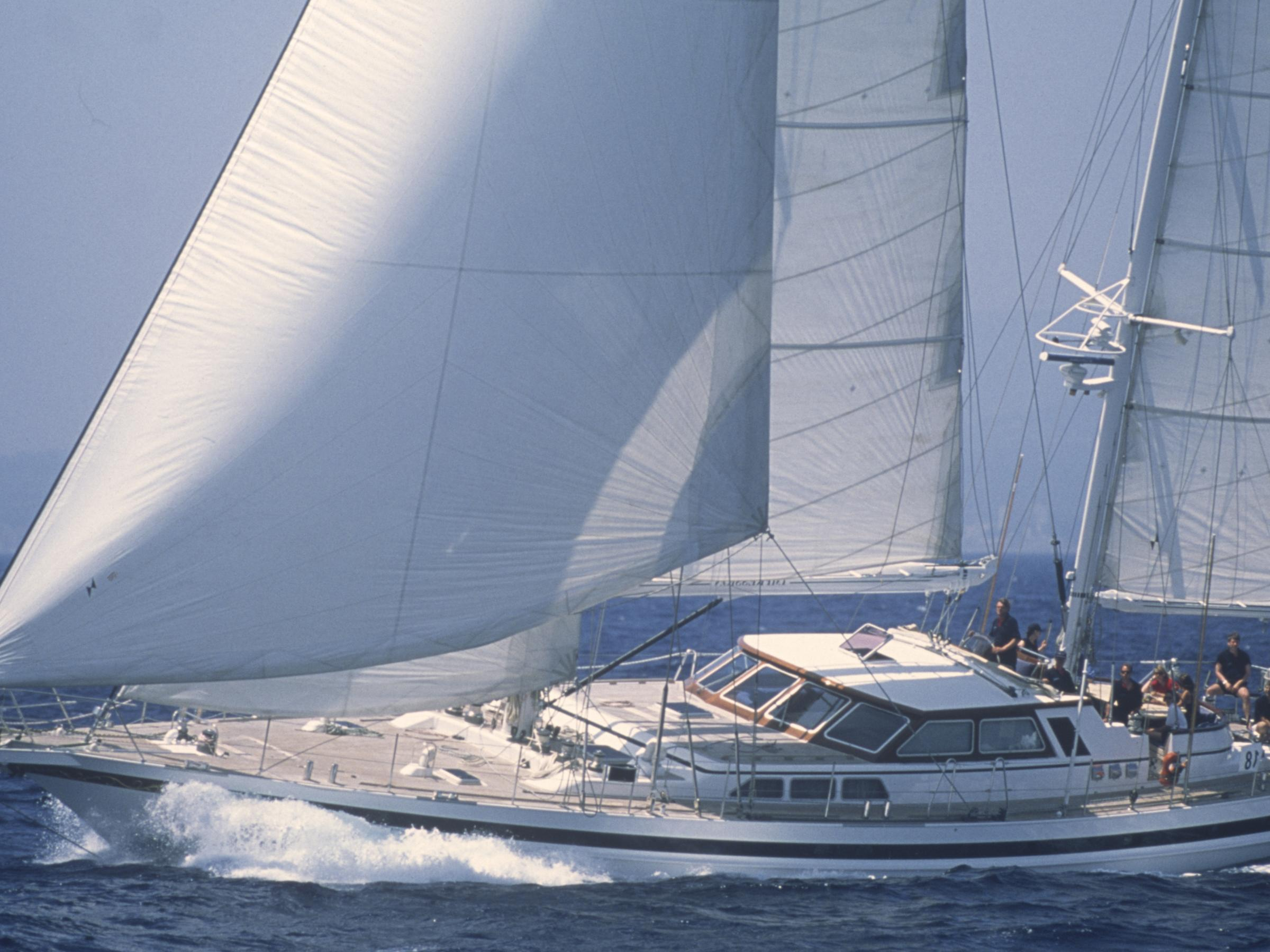 Coming Soon sailing yacht Jongert 30T ketch Impression for sale at Van der Vliet Dutch Quality Yachts