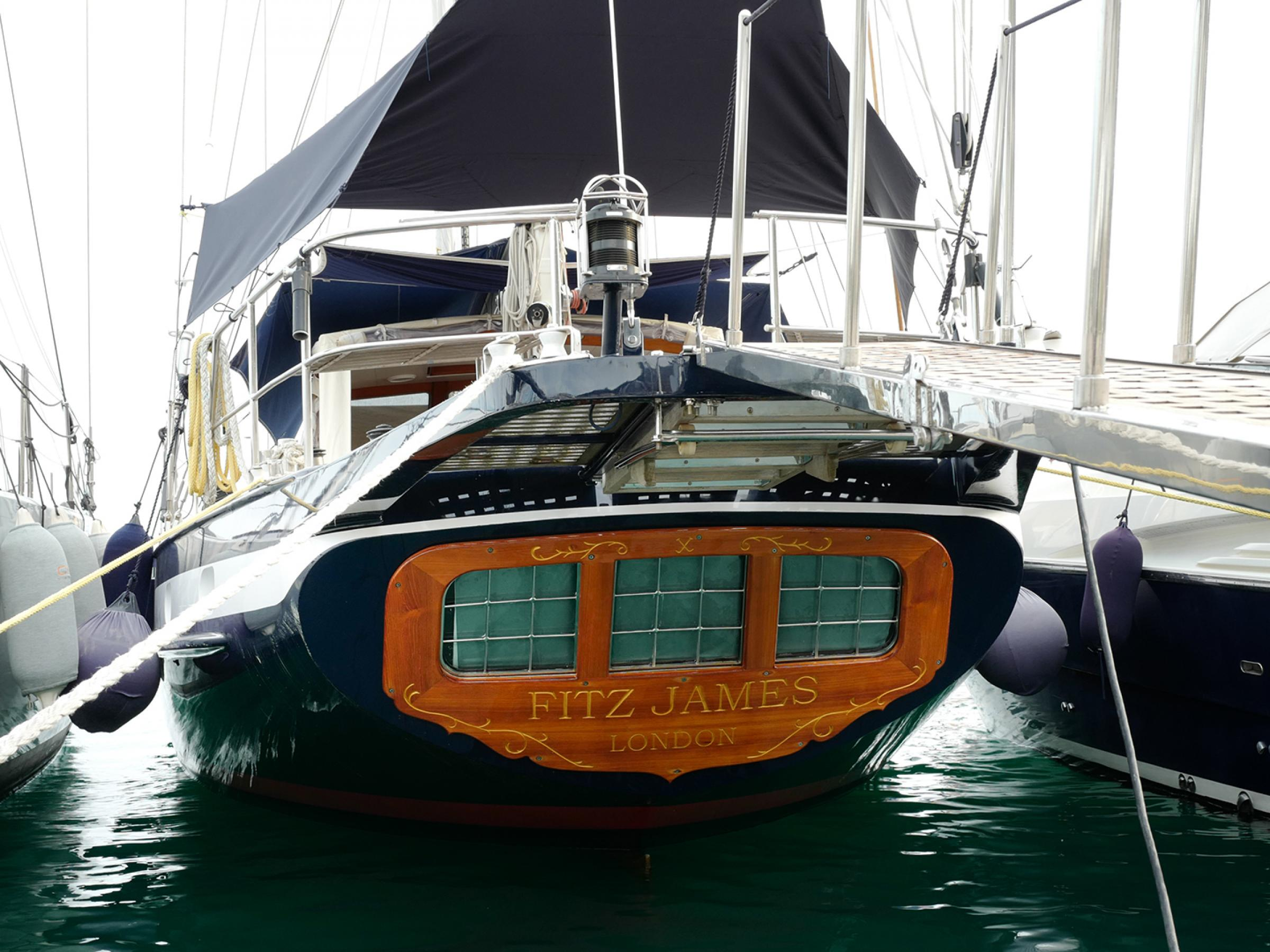 The Fitz James, a Jongert 21S sailing yacht has been sold in a direct deal