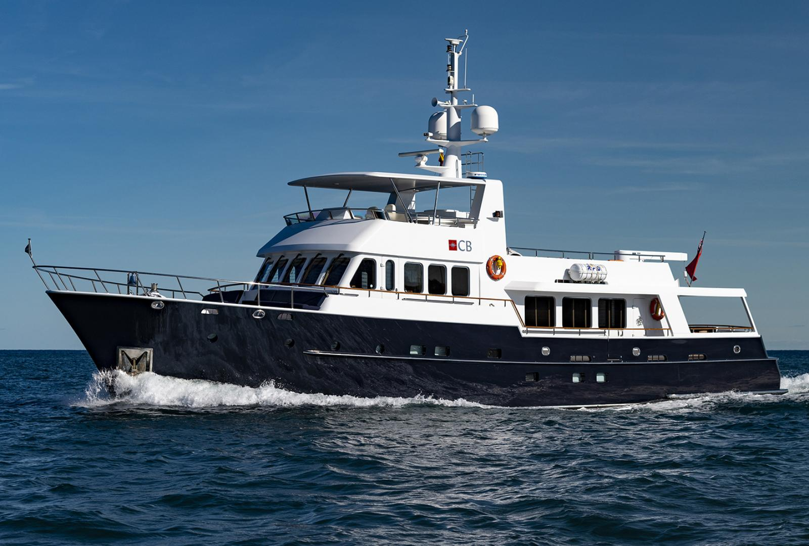 The Commercial Break, a Moonen 90 Offshore has just had a major price reduction