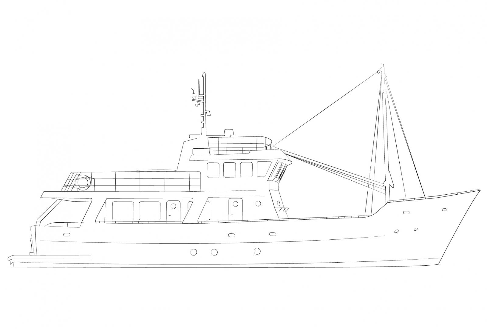 Vripack Doggersbank Research vessel 75