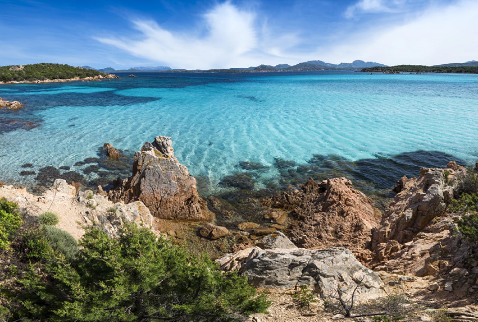 Sardinia charter itinerary