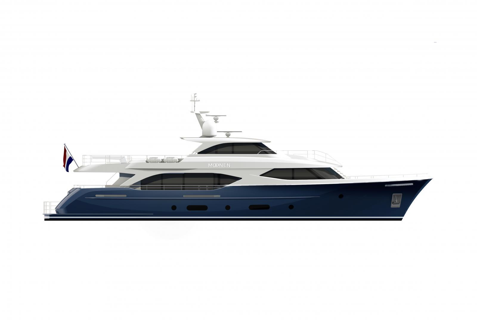 YN202 drawing moonen yachts Moonen 110