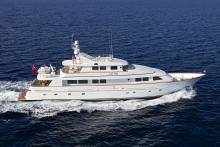 Motor yacht Lady Ellen Benetti sold in a direct deal