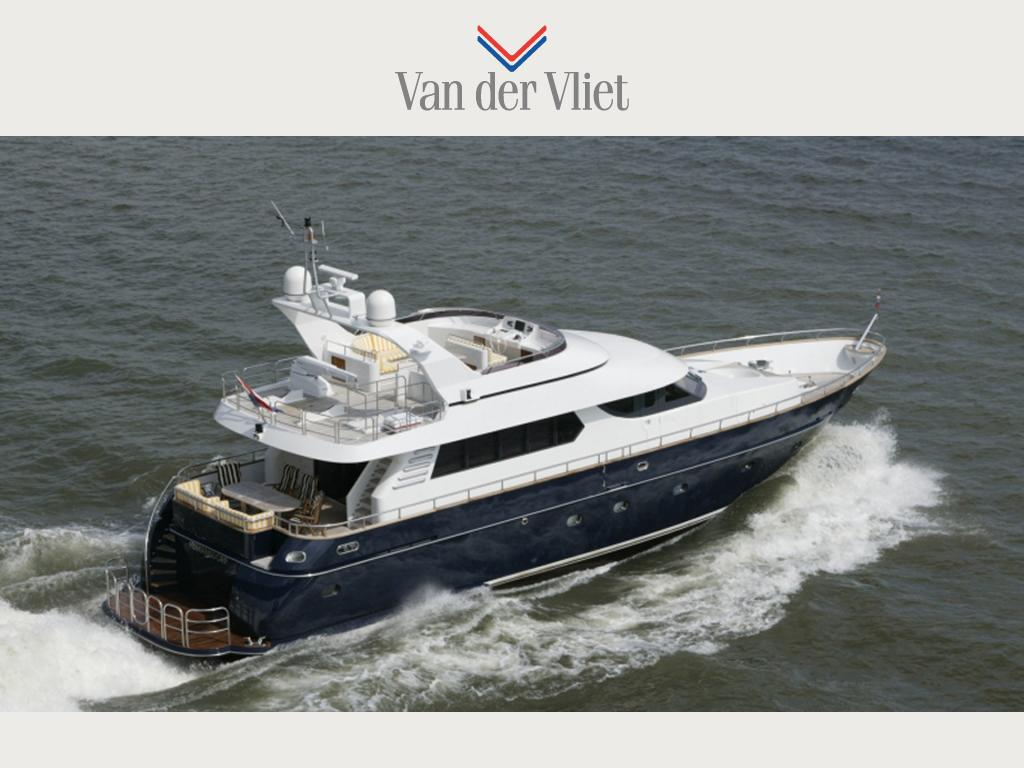 Motor yacht van de berg shipyards new experience 78 for Used motor yacht for sale
